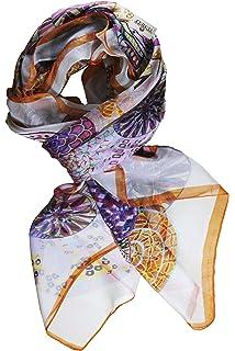 498807d8b66 FERETI Grand foulard Marron clair à sequins paillettes broderies et franges  argent Echarpe · EUR 14