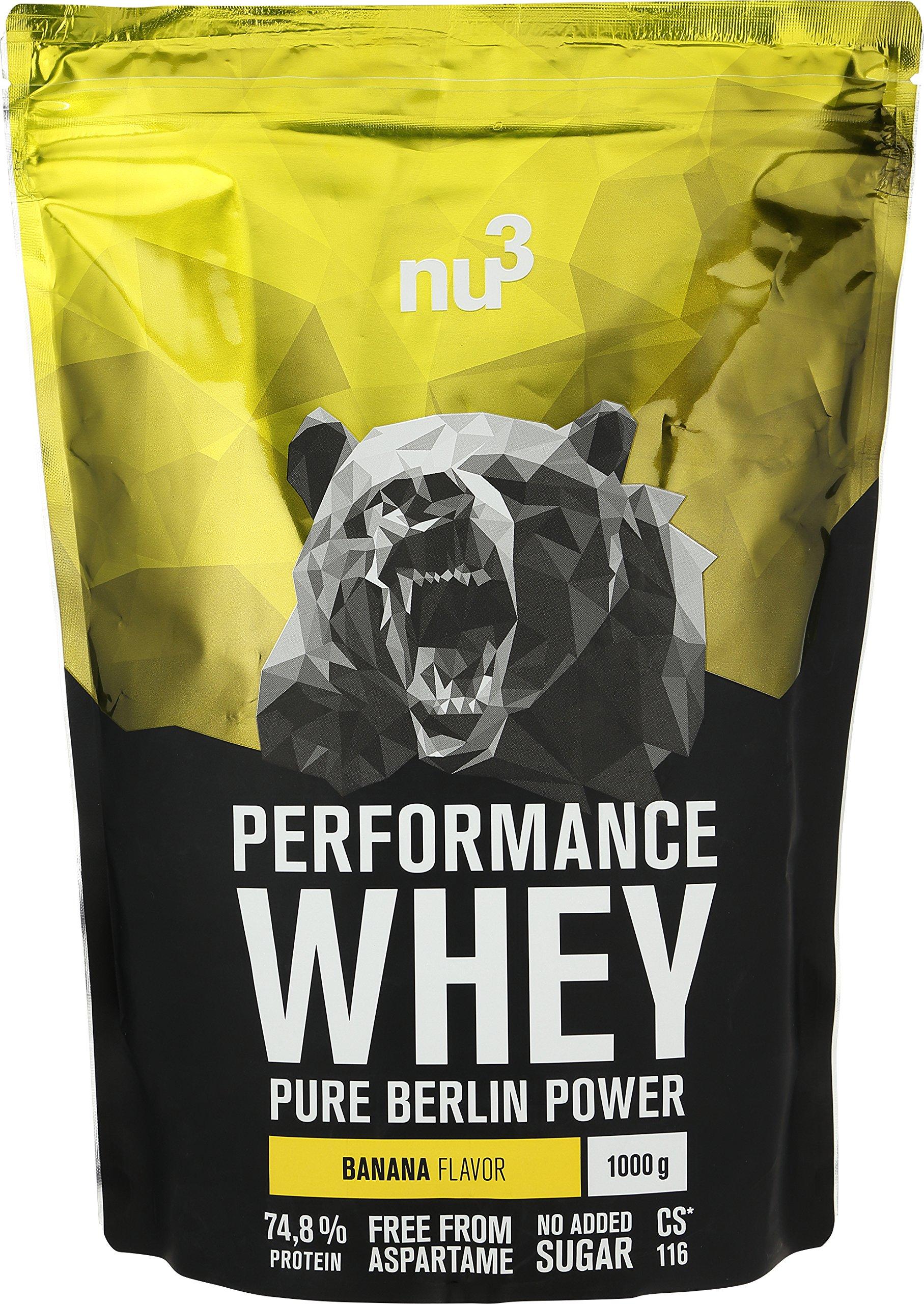 nu3 Performance Whey – Voller Geschmack und gute Löslichkeit bei hohem Proteingehalt