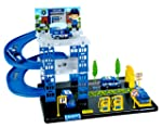 Toyshine Big Police Station Track Set with 4 Cars, Accessories - 3