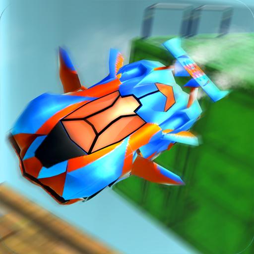 Futuristic Car Stunts 2048 - Epic Stunt Adventure (Party Wings City)