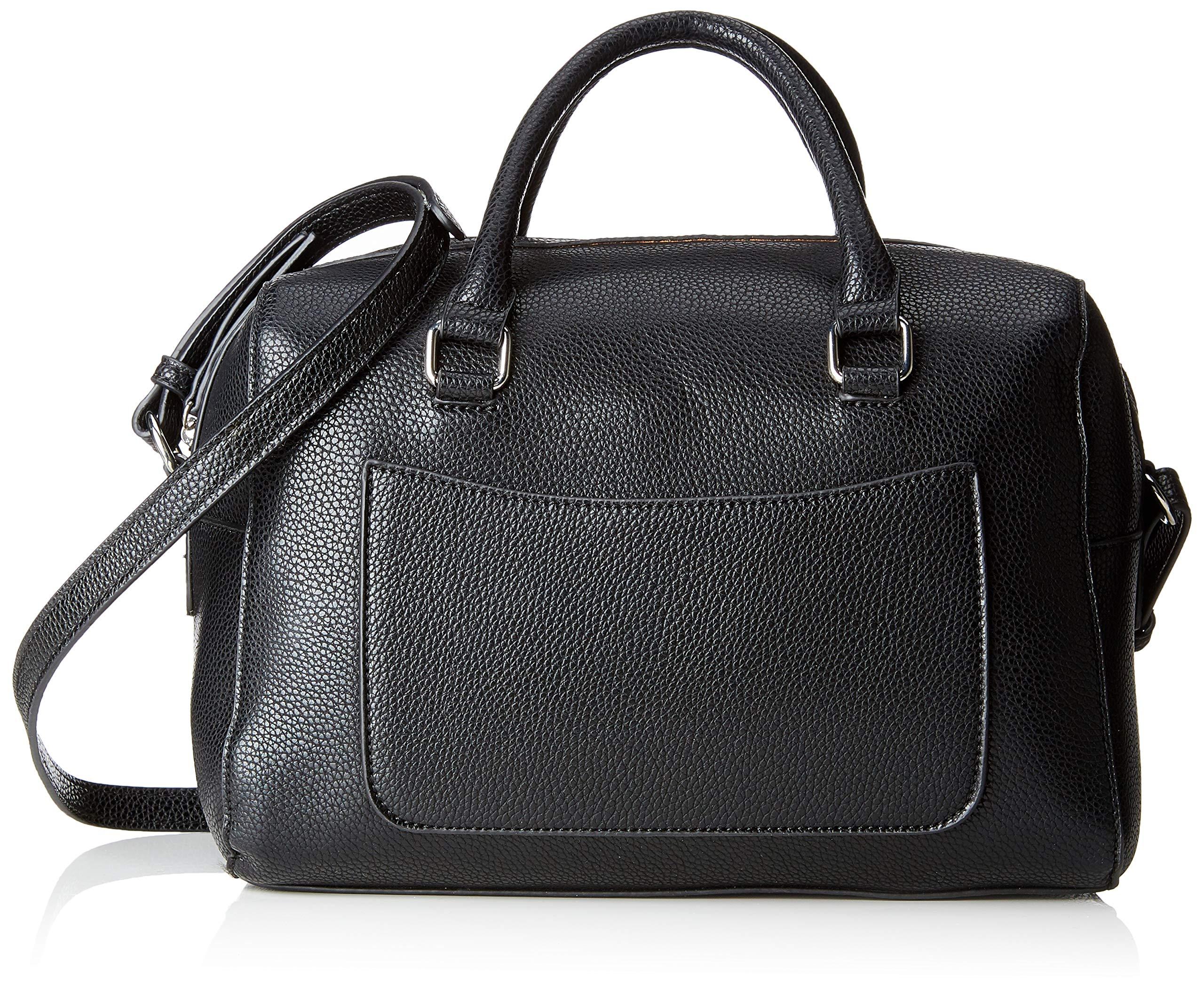 PIECES – Pcfia Bag, Shoppers y bolsos de hombro Mujer, Negro (Black), 16x20x29 cm (B x H T)