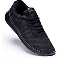 AONEG Mens Running Waking Traniners Sneaker Athletic Gym Fitness Sport Shoes Lightweight Casual Working Jogging Outdoor…