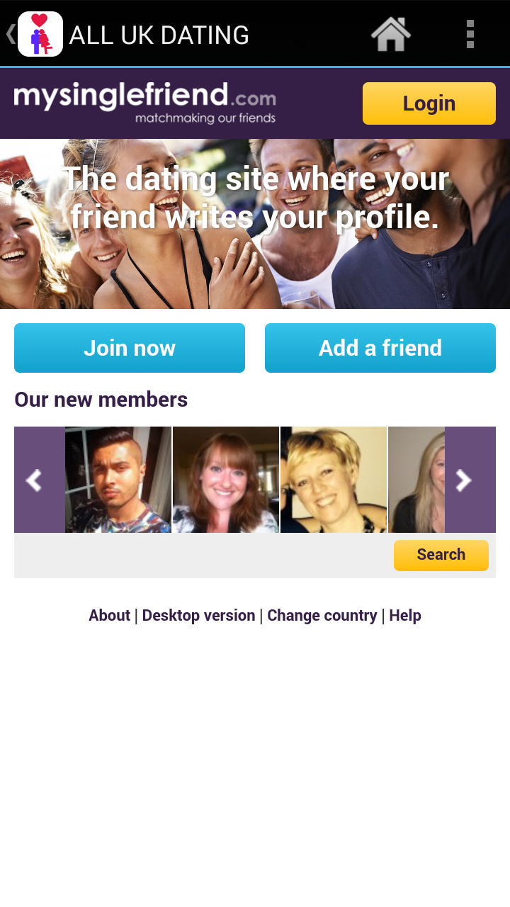my single friend dating site