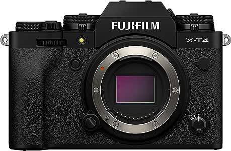 Fujifilm X-T4 Appareil Photo numérique sans Miroir Noir
