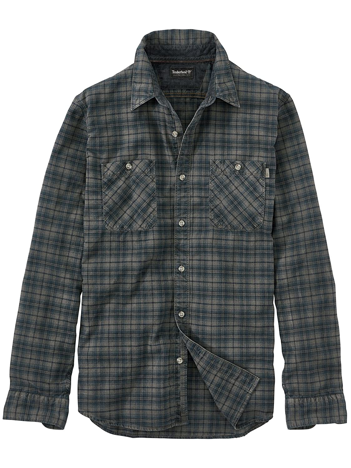 321891eb4213 Timberland Men s Back River Small Plaid Flannel Shirt  Amazon.co.uk   Clothing