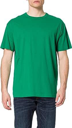 Urban Classics Herren T-Shirt Basic Oversized Tee, einfarbiges Männer Oberteil mit weitem Schnitt in vielen Farben erhältlich, Größen S - 5XL