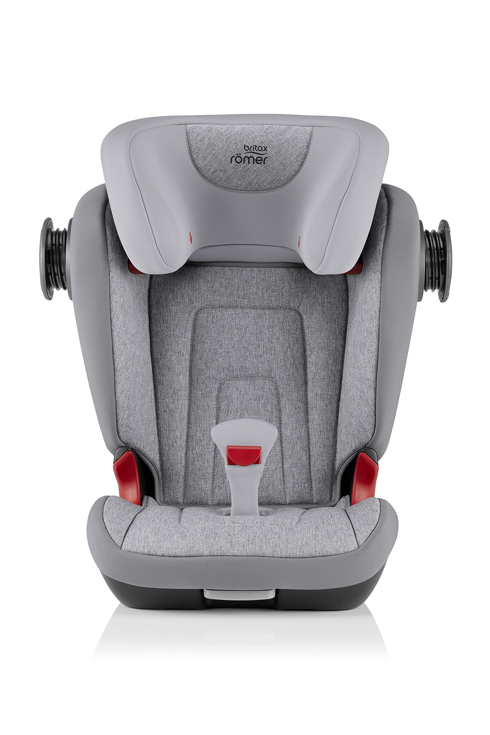 Britax Römer KIDFIX² S Group 2-3 (15-36kg) Car Seat - Grey Marble  Advanced side impact protection - sict offers superior protection to your child in the event of a side collision. reducing impact forces by minimising the distance between the car and the car seat. Secure guard - helps to protect your child's delicate abdominal area by adding an extra - a 4th - contact point to the 3-point seat belt. High back booster - protects your child in 3 ways: provides head to hip protection; belt guides provide correct positioning of the seat belt and the padded headrest provides safety and comfort. 6
