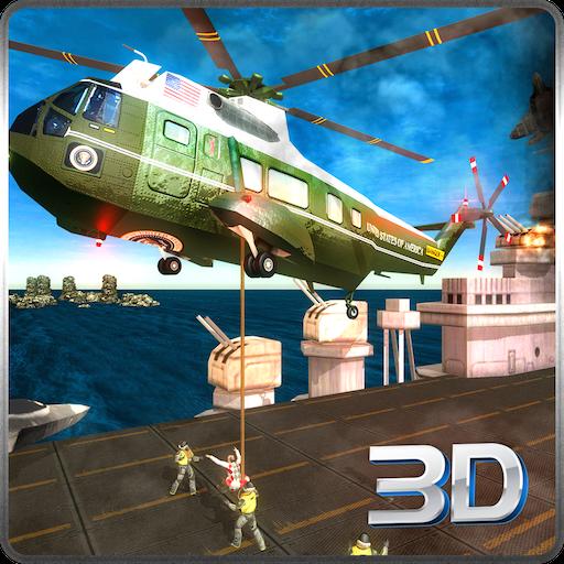 Aircraft Strike Flotte Lite Battlefield Rettung Ãœberleben Mission: Navy Helikopter Air Ambulance Pflicht im Krieg Wings Simulator Spiel 2018
