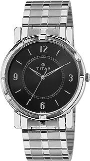 Titan Analog Black Dial Men's Watch NK1639SM03