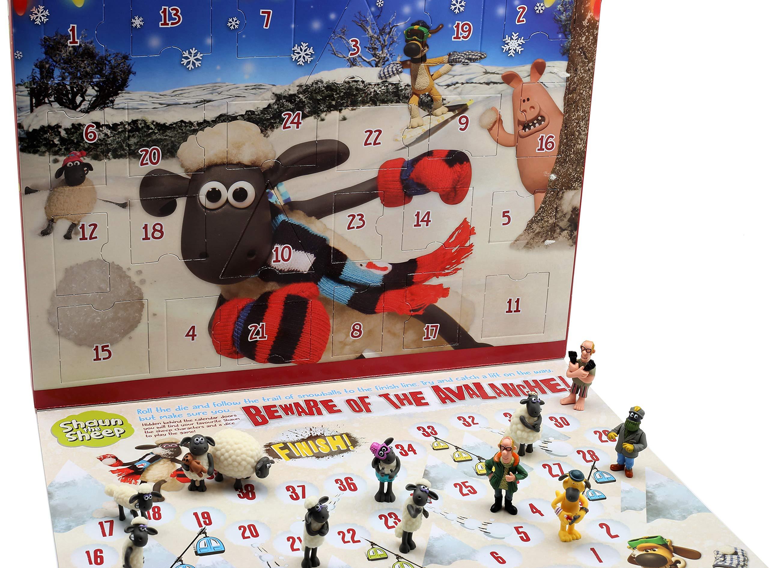Calendario Avvento Ravensburger.Shaun The Sheep Calendario Avvento Per Bambini Wallace E