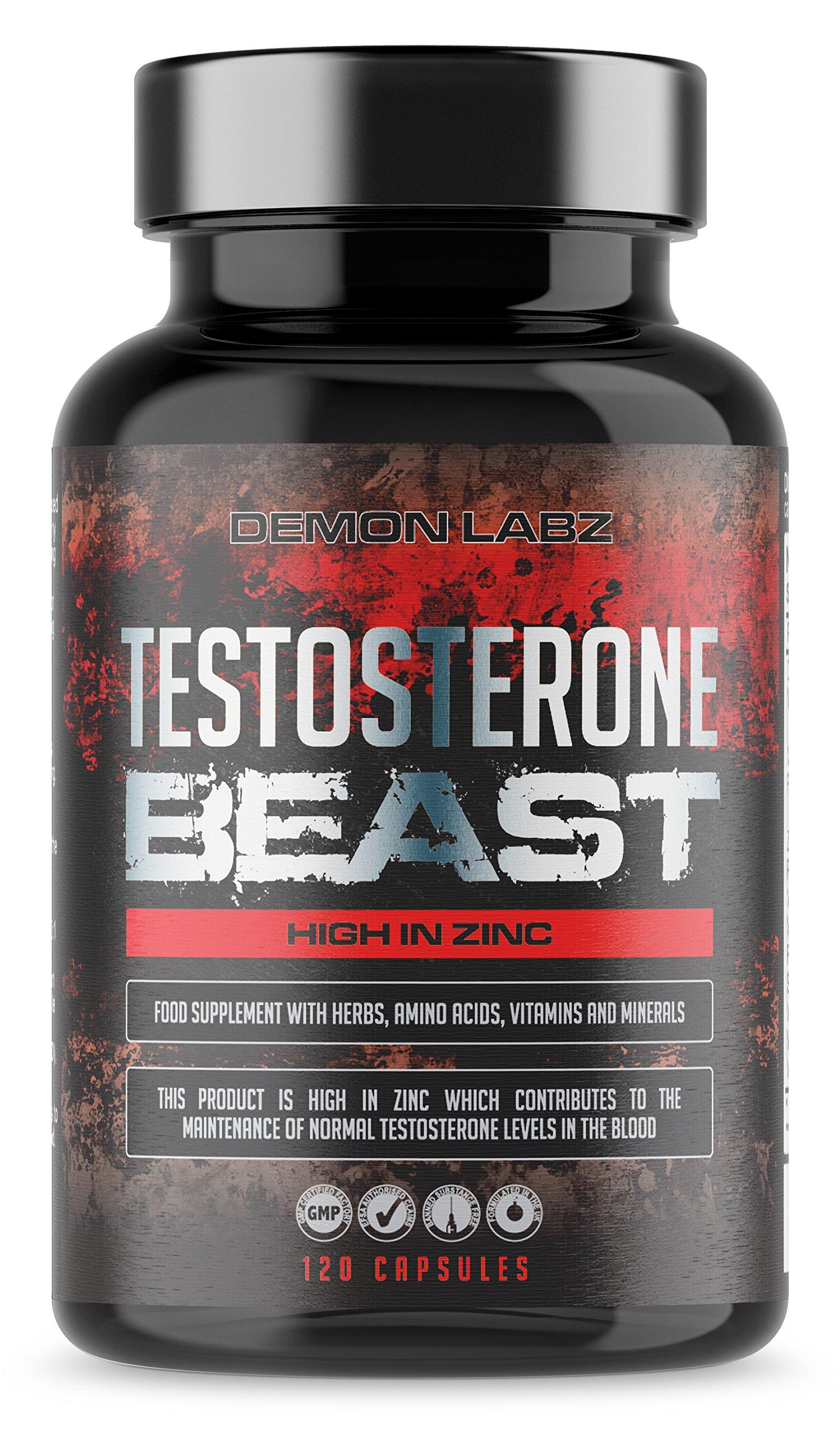 Testosterone Beast | Hardcore Testosterone Booster for Men