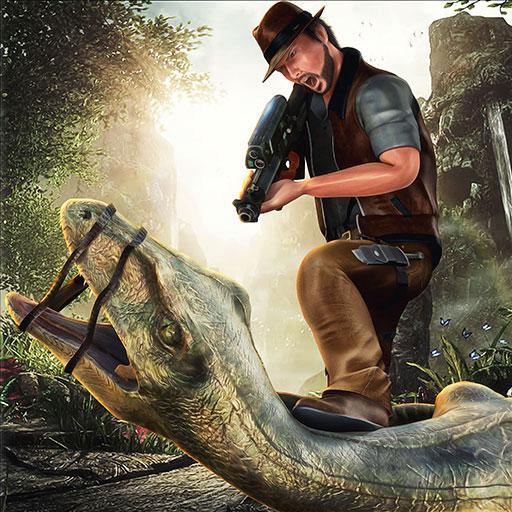 Held Jäger Revolution Krieger: Dinosaurier Park Hero Regeln des Überlebens Simulator Spiel 2018 ()