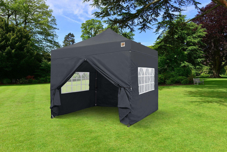 Gorilla Gazebo ® Pop Up 3x3m Heavy Duty Waterproof Commercial Grade Market Stall 4 Side Panels and Wheeled Carrybag… 2