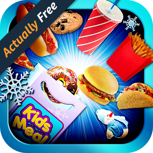 Kids Meal Maker - Winter FREE & Frozen Desserts, Ice Cream, Popsicles, Milkshakes, Pizza, Cookies, Cupcakes & Toys for Boys and Girls Food Kitchen Cooking Game