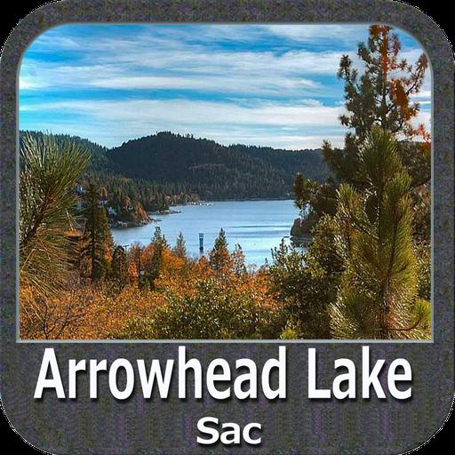 Arrowhead Lake Sac - IOWA Map Lowrance-gps-software