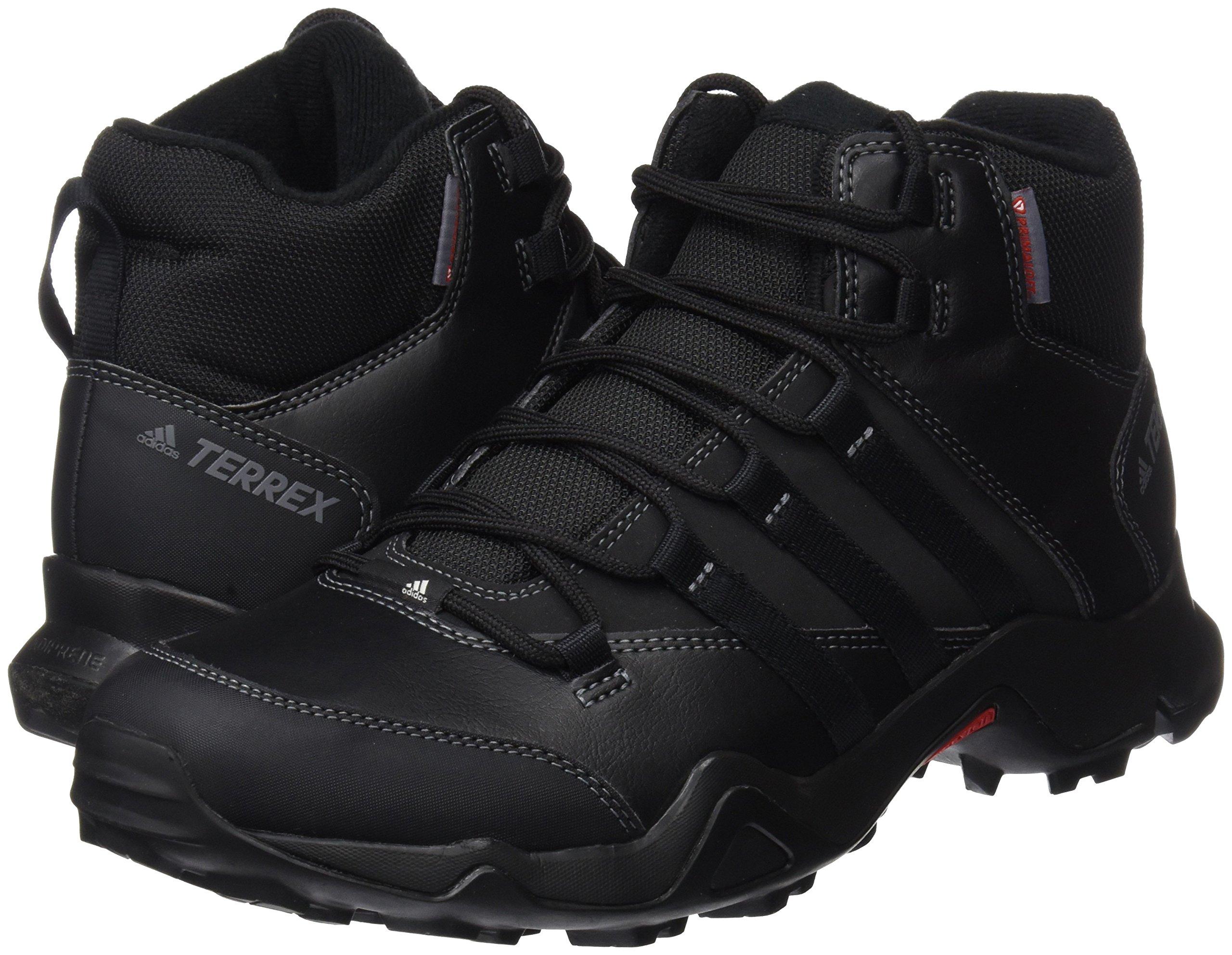 91%2BzMsrIgGL - adidas Men's Terrex Ax2r Beta Mid Cw High Rise Hiking Boots