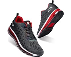 Women Men Running Shoes Sports Trainers Air Cushion Shock Absorbing Casual Walking Gym Jogging Fitness Athletic Sneakers