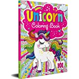 Unicorn Coloring Book - 101 Artworks: Colouring Book For Kids
