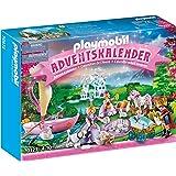 PLAYMOBIL Adventskalender 70323 Königliches Picknick im Park mit zahlreichen Figuren, Tieren und Zubehörteilen hinter jedem T