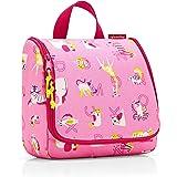 reisenthel toiletbag kids 23 x 20 x 10 cm/ 23 x 55 x 8,5 cm expanded / 3 l / abc friends pink