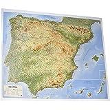 Mapa en relieve Pirineos: Amazon.es: All 3D Form S. L.: Libros
