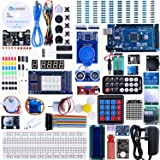 ELEGOO Mega 2560 Project The Most Complete Ultimate Starter Kit Compatible with Arduino IDE w/TUTORIAL, MEGA 2560 R3 Controll