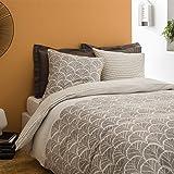 MATT & ROSE Parure de lit en Coton : Housse de Couette et taie d'oreiller
