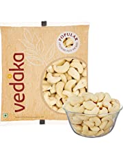 Amazon Brand - Vedaka Popular Whole Cashews, 100g