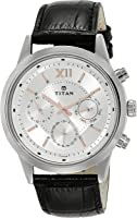 Titan Neo Analog Silver Dial Men's Watch - 1766SL04