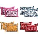 RRC Cotton 200 TC Pillow Cover, 17 x 27 Inch, Light