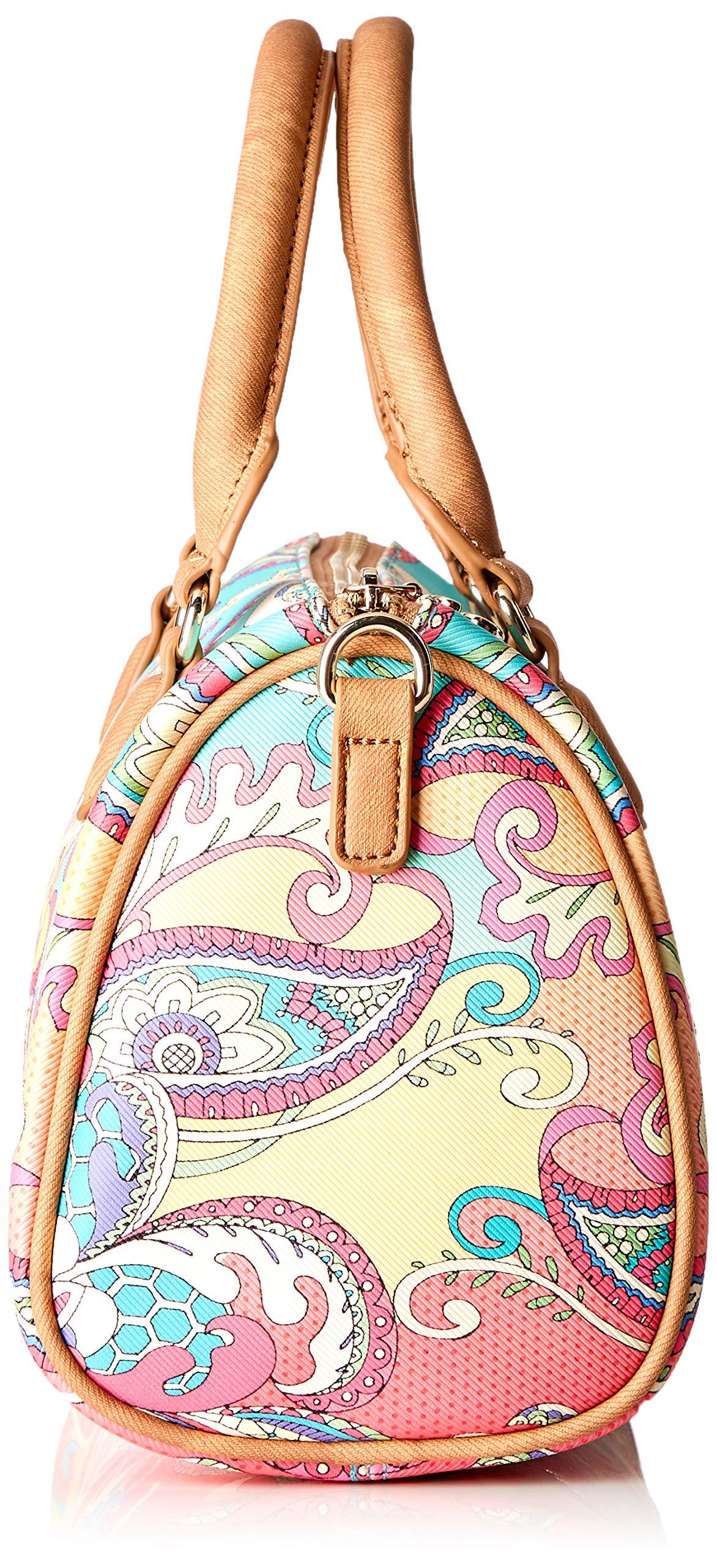Desigual Bag Grand Valkiria Bowling Med Women - Borsette da polso Donna, Arancione (Coral), 13.7x18x27 cm (B x H T) 3 spesavip
