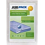 ASK Pack Housse De Protection Matelas Junior Premium - - Imperméable et Résistant aux Déchirures - avec Fermeture éclair - po