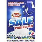 Sel purissimo–Sel granuleuse, élimine le calcaire igienizzando, spécifique pour machines Lave-vaisselle,1000g