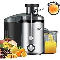 DEMU Entsafteraus EdelstahlTrennscheiben Juicer Saftbehälter Für Obst und Gemüse Zentrifugaler Entsafter BPA-frei