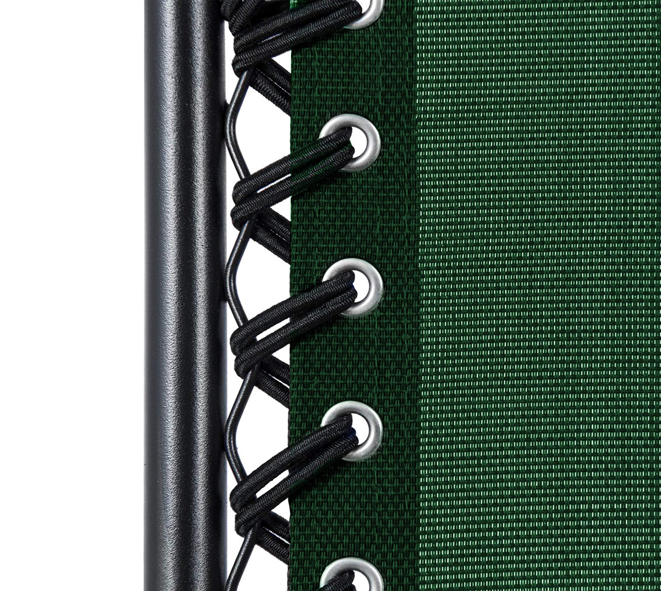 KEPLIN Set of 2 Heavy Duty Zero Gravity Chairs -Green