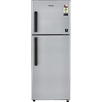 Whirlpool 245 L 2 Star Frost Free Double Door Refrigerator(Neo FR258 CLS Plus, Galaxy Steel)