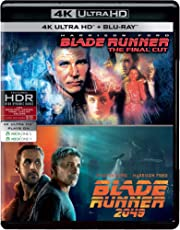 Sci-Fi 2 Movies Collection - Blade Runner: Final Cut + Blade Runner 2049 (4K UHD & HD) (4-Disc Box Set)