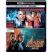 Sci-Fi 2 Movies Collection - Blade Runner: Final Cut + Blade Runner 2049 (4K UHD & HD) (4-Disc Box Set)