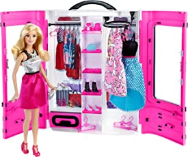 Barbie DMT58 Fashionistas Ultimate Closet Doll, Multi Color