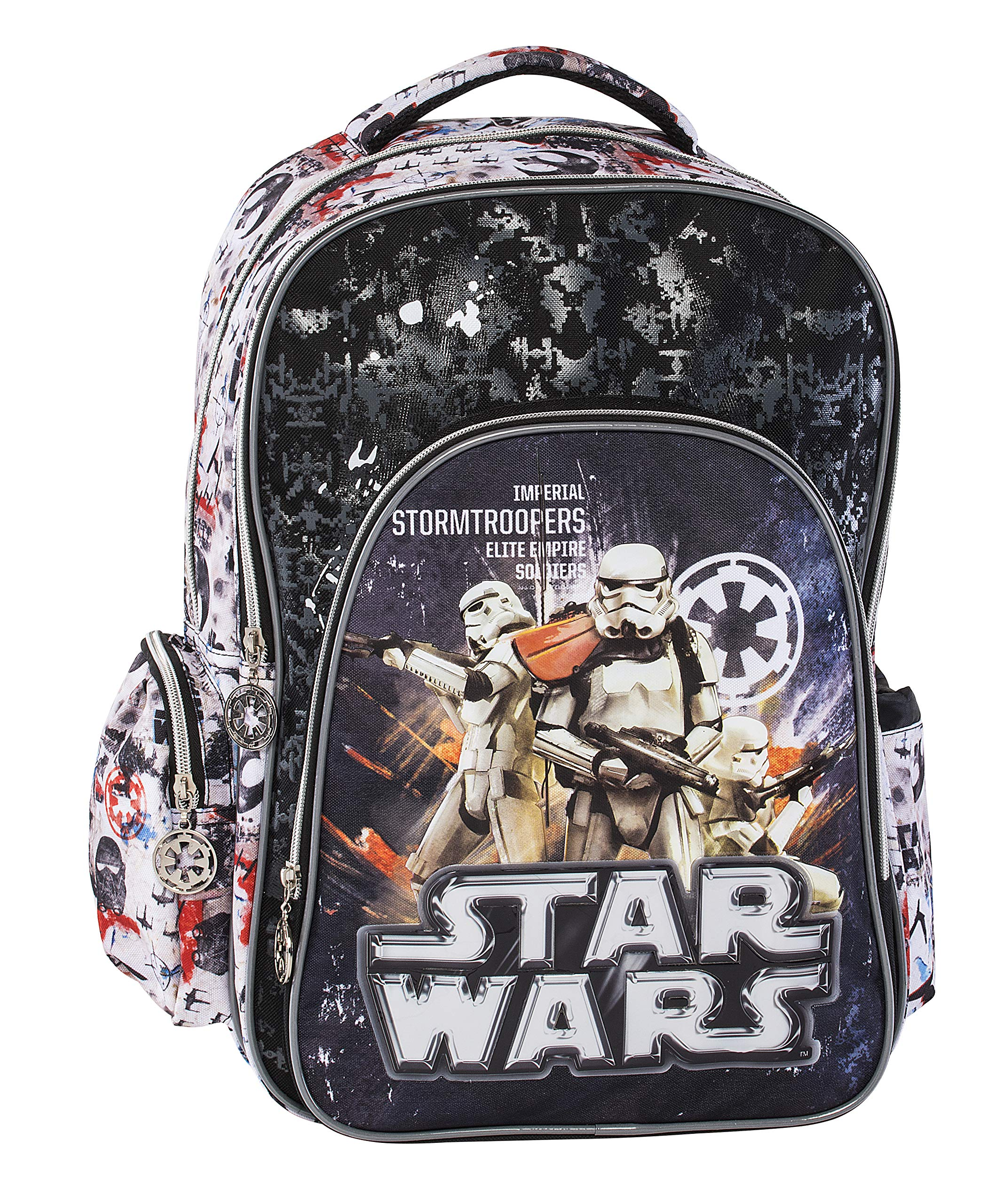 91 8wsaI4SL - Graffiti Star Wars Mochila Escolar, 44 Centimeters