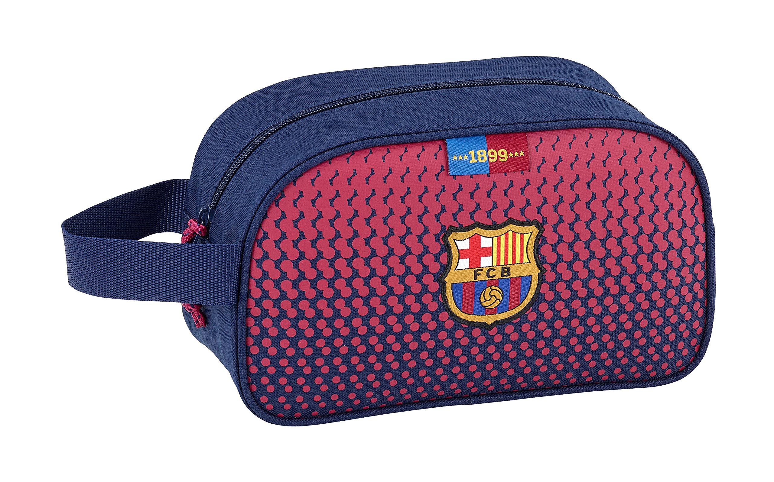 Safta Neceser F.C. Barcelona CorporativaOficial Mediano con Asa 260x120x150mm