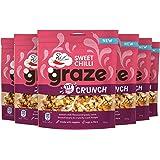 Graze Sweet Chilli Chrunch Peulvruchten en Groenten Snack - 6 Stuks (104 g)