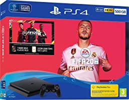 Sony PlayStation 4 500GB Console with FIFA 20 Bundle