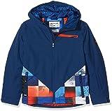 Quiksilver Herren Youth JK Suit Up-Snow Jacket for Boys 8-16, Mandarin red, 14/X