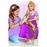 Disney Princess Bambola Rapunzel Grande, 80 cm