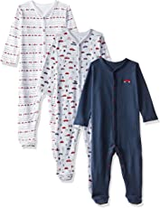 Mothercare Baby Boys' Regular Fit Sleepsuit (Pack of 3)