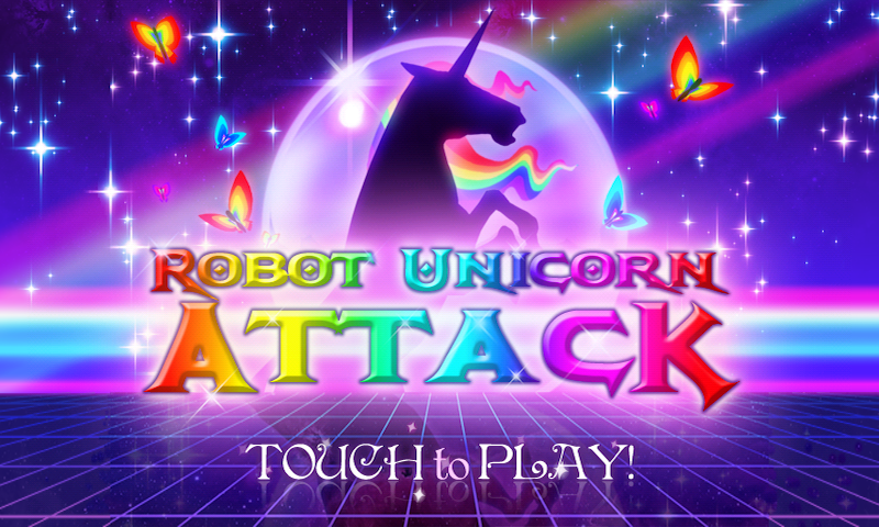 Robot Unicorn Attack Brings Surrealism to Android