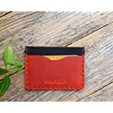Leather wallet. Credit card, cash or ID holder