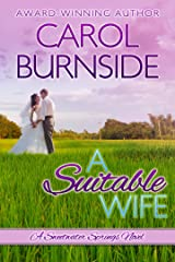 A Suitable Wife: A Sweetwater Springs Novel (English Edition) Versión Kindle