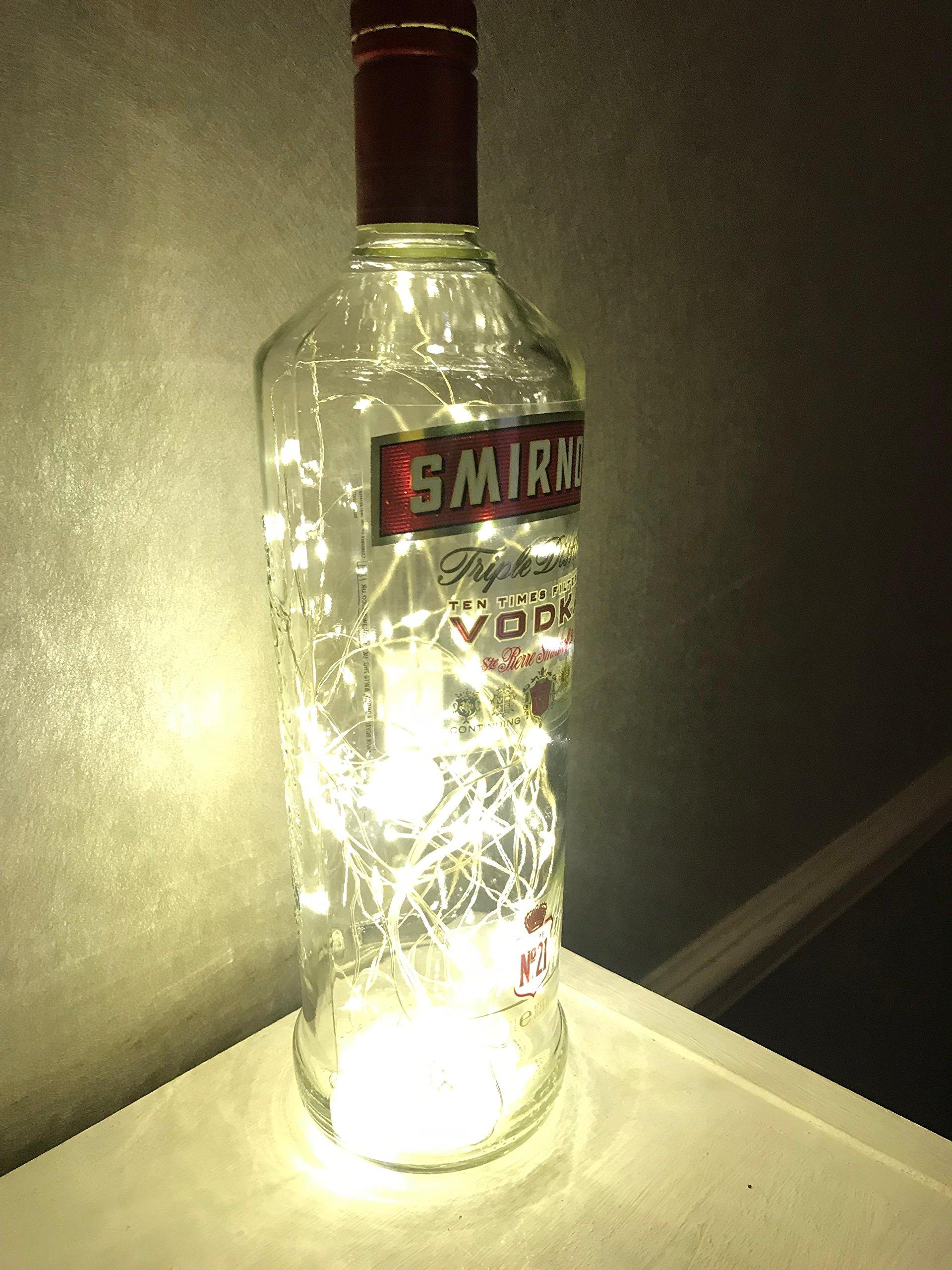 Smirnoff Vodka 70cl LED Lamp